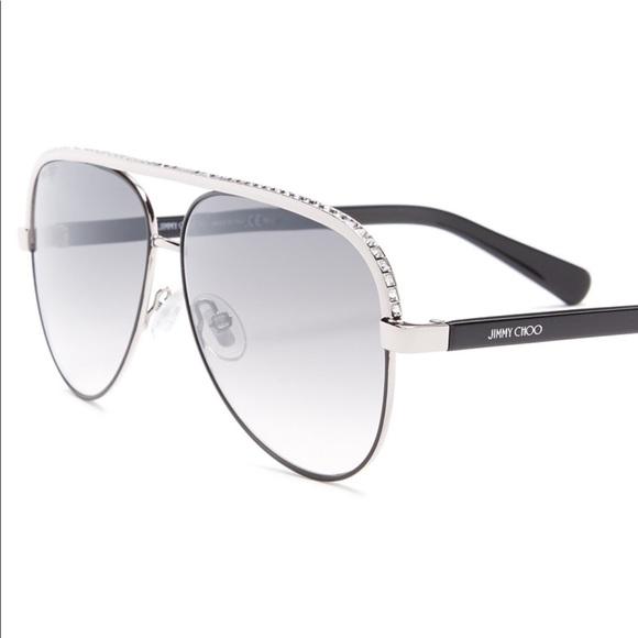64f60785352c Jimmy Choo Accessories - Jimmy Choo Aviator Sunglasses